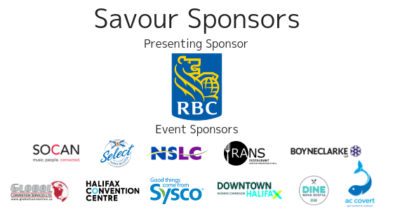 Savour Our Sponsors 1