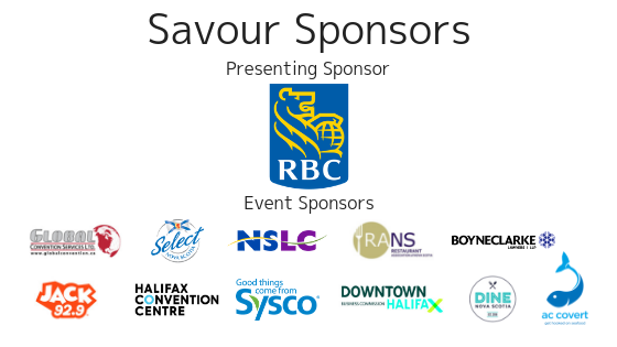 Savour Our Sponsors 5